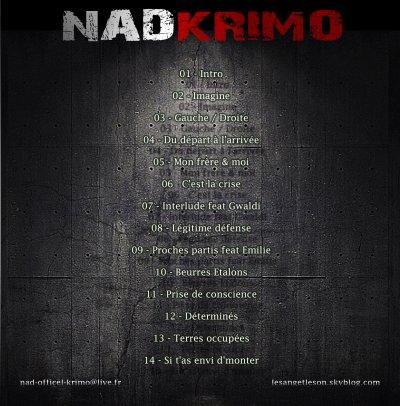 KRIMO & N.A.D présentent :