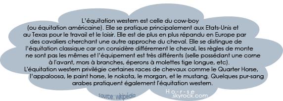 ___________◊ L'équitation western_____________!_____________________Ho-r-se_♥_______________
