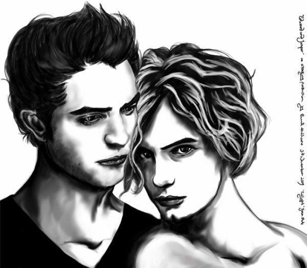 Dessin Jasper & Edward