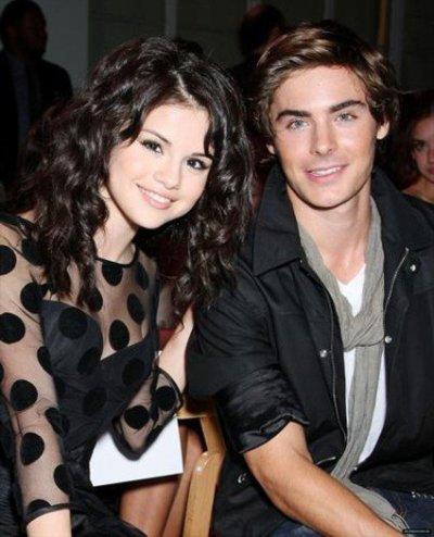 Zac et Selena Gomez