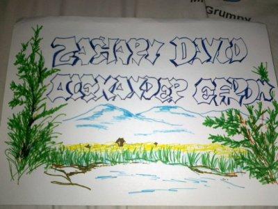Petit dessin pour Zac Efron