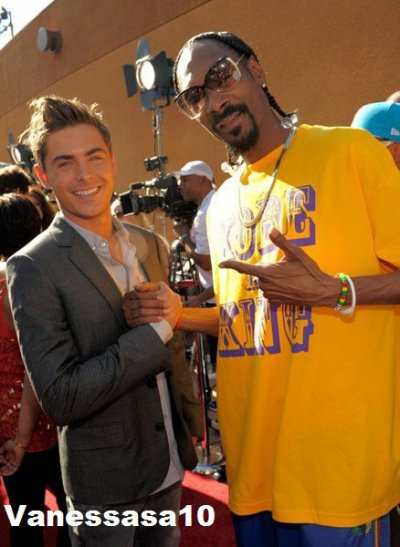 zac et snoop dogg la classe !!