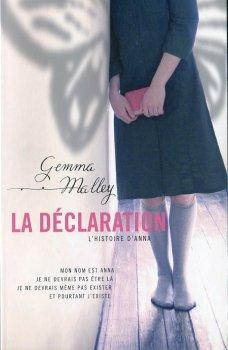 La Déclaration - G. Malley - 7/10