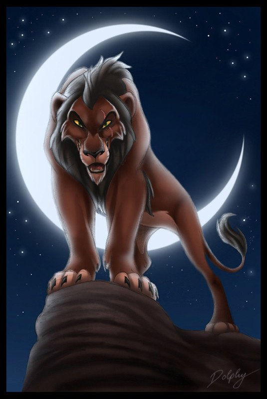 Lion brun