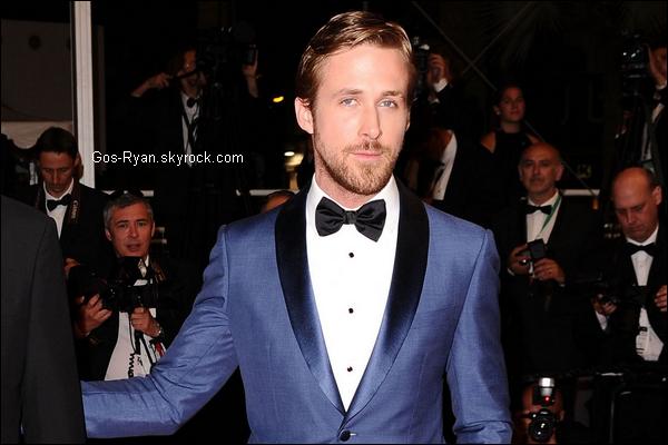 . Ryan en France pour le Festival de Cannes .