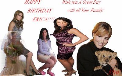 HB Erica!!