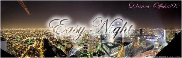 LIBANOS - EASY NIGHT  (2011)