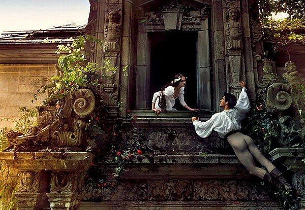 """""""Roméo & Juliette"""" revisité par Annie Leibovitz"""