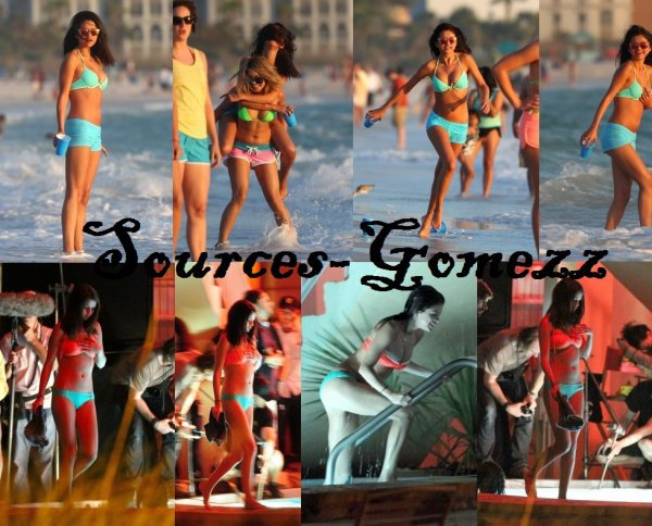 Selena Gomez sur le tournage du film