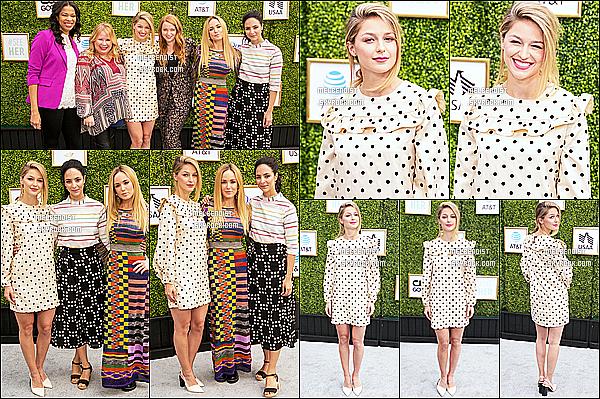 * 14/10/18 :    Melissa a assisté à l'événement « CW Network's Fall Launch Event » - qui avait lieu dans Los Angeles. Melissa B. était sublime. Je suis vraiment fan de sa coiffure et de son maquillage. La robe qu'elle porte est très jolie également. Je lui donne donc un Top.  *