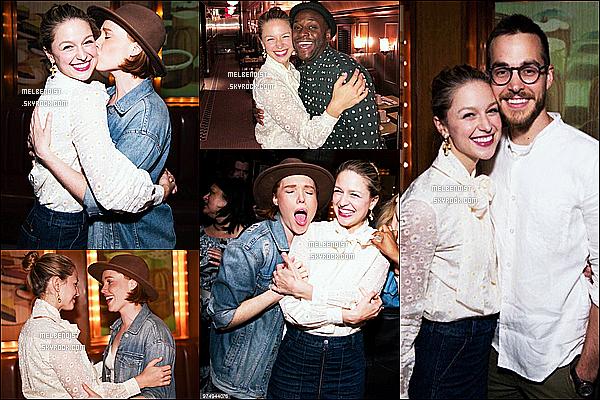 * 12/06/18 :    Melissa B. était dans les coulisses de « Beautiful - The Carole King Musical » à Broadway à New York. Melissa donnait une autre représentation pour cette comédie musicale. Elle est toute belle et toute souriante. J'aime bien la tenue qu'elle porte. Donc Top.  *
