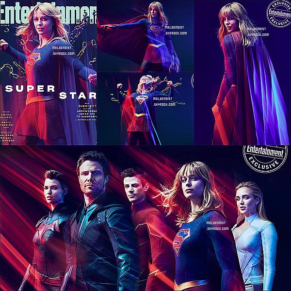 * * '-Photoshoot ●-  Voici des photos de Melissa B. pour le magazine - « Entertainment Weekly » ! *