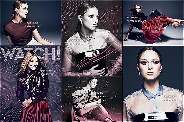 *  Découvrez un nouveau photoshoot de Melissa B. pour le « CBS Watch Magazine » !  *