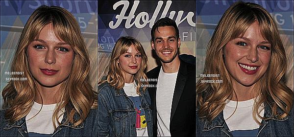 * '•-08/08/19-' : Melissa était présente lors de l'événement « HollyShorts Film Festival » - qui avait lieu dans Los Angeles. Melissa est toute ravissante. C'est dommage qu'il n'y ait seulement trois photos. On ne voit pas trop sa tenue mais elle à l'air sympa. Top. *
