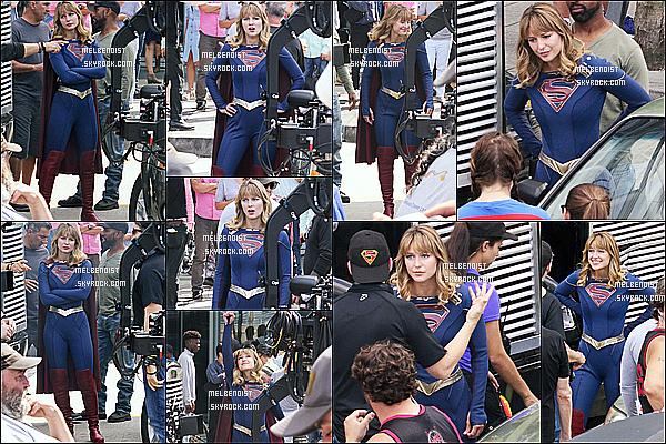 * '•-17/07/19-' : Melissa B. était présente sur le plateau de tournage de la saison 5 de la série « Supergirl » dans Vancouver. Pour cette nouvelle saison Melissa a une nouvelle coupe de cheveux et un nouveau costume dont je suis fan. C'est donc un Top pour moi. *