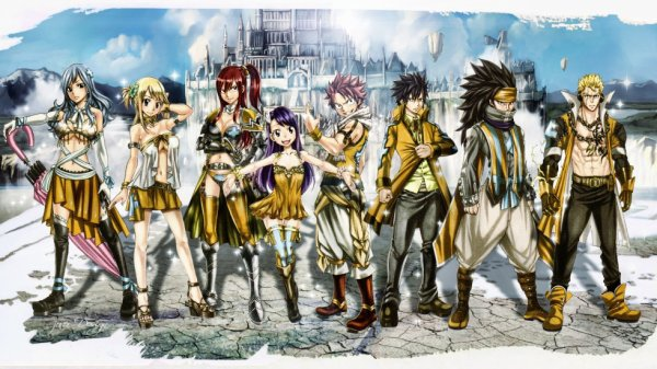 fairy tail en force !!!!!