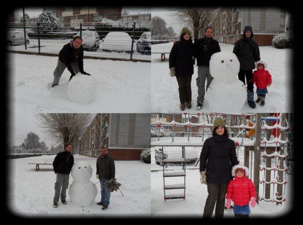 Superbe journée sous la neige !!!