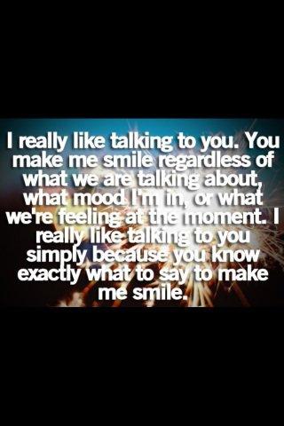 Ta le don de tout faire et a la fois de rien faire pour me fairr sourire