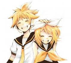 Len et Rin Kagamine de Vocaloid