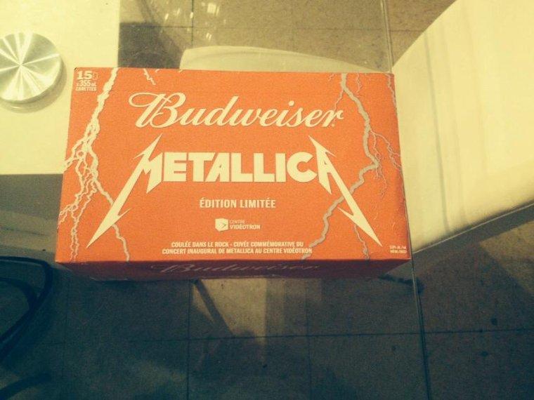 ***Budweiser***Coulée D@ns Le Rock=TOUTE CEL@ LIER @U CONCERT DE***MÉTALLICA***