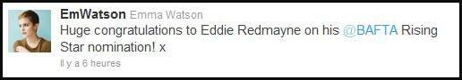 ~ Tweet de Emma Watson ~