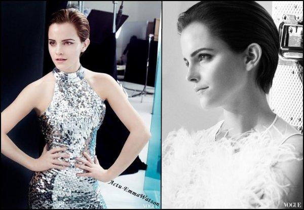 Voici les nouvelles photos de la campagne de pub pur Lancöme , ainsi que l'affiche officielle : Que dire a pars  que Emma est sublime ? **