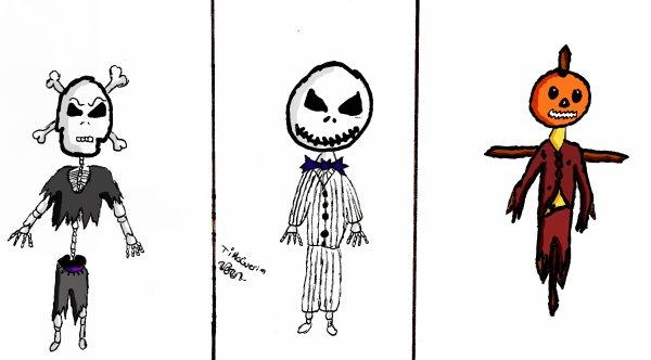Little jack, john and halloween