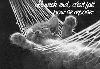 ce soir week end =)