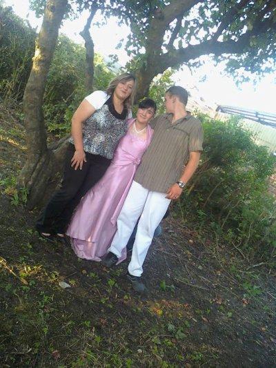 le mariage de ma maman et mon baux pére