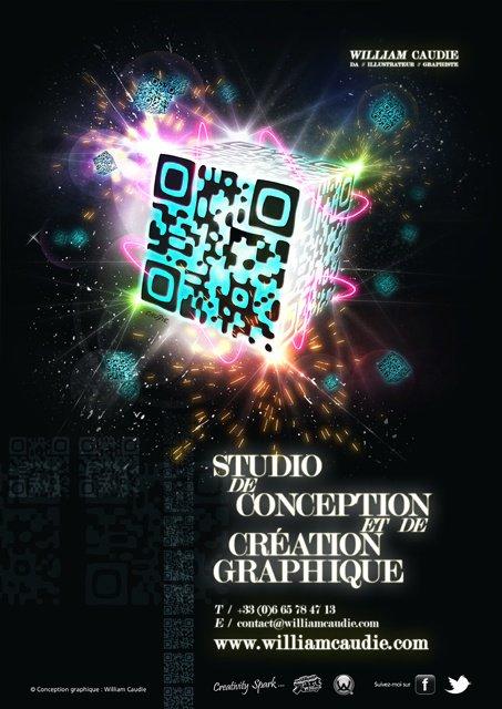 Nouvelle affiche 2012 avec un QR Code !