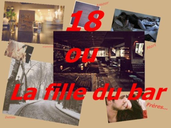 Feuille à Fiction : 18 ou la fille du bar.