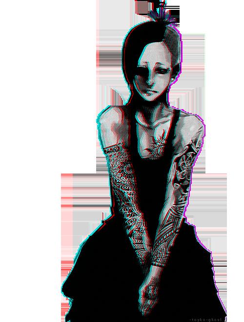 Feuille à Fanfiction : Le masque, l'art de cacher. - Tokyo Ghoul.