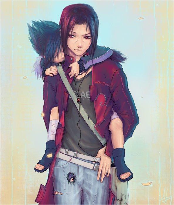 Feuille à One Shot : Pourquoi es-tu parti, grand frère ? - Naruto.