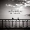 Feuille à Fanfiction : La vie est un grand instant de faiblesse. - Tokio Hotel.