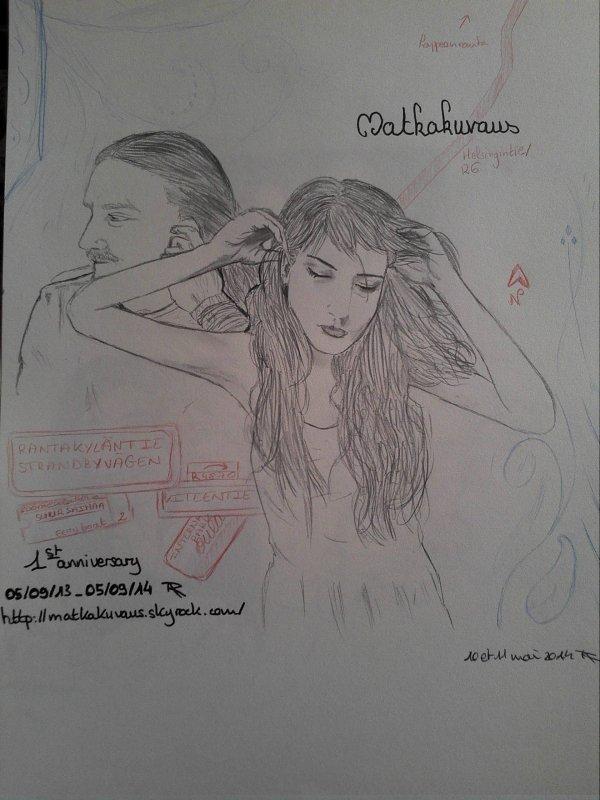 Feuille à Fanfiction : Matkakuvaus. - Nightwish.