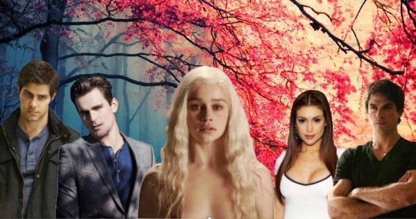 Feuille à Fanfiction : La vie d'une fille pas très ordinaire. - Vampire Diaries / Grimm.
