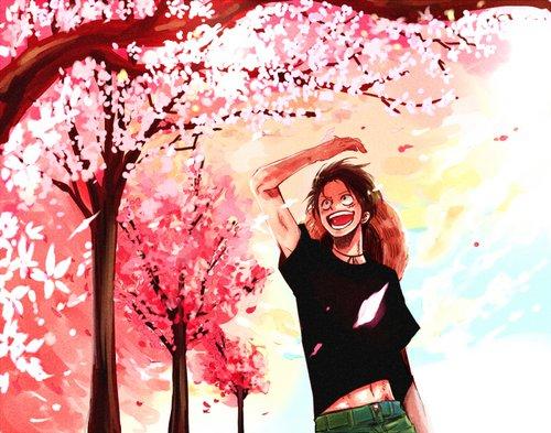Feuille à Fanfiction : Paradise. - One Piece.