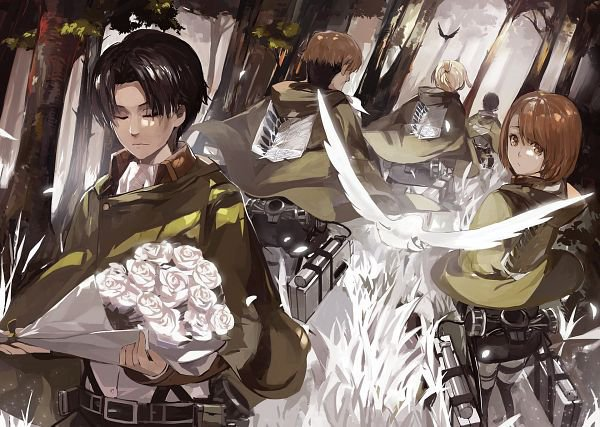 Feuille à One Shot : Good night. - Shingeki no Kyojin.