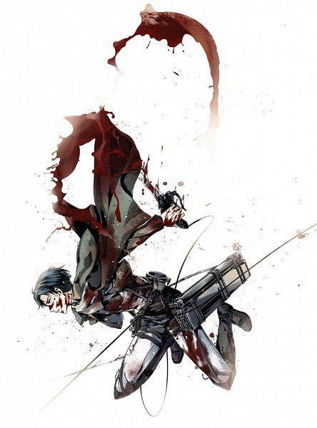 Feuille à One Shot : Adieux~Le vent de la liberté porte l'odeur du sang. - Shingeki no Kyojin.