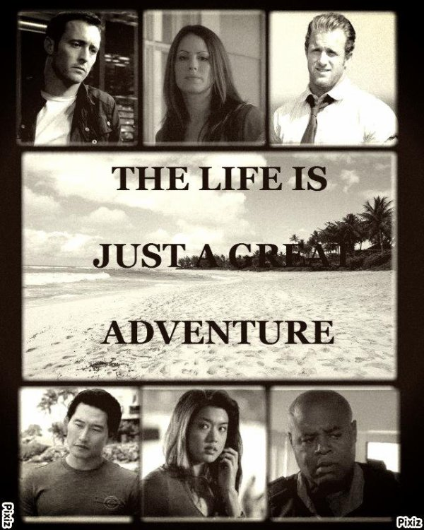 Feuille à Fanfiction : The life is just a great adventure. - Hawaii 5-0.