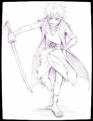 Feuille à Fanfiction : Esprit rebelle. - Naruto.