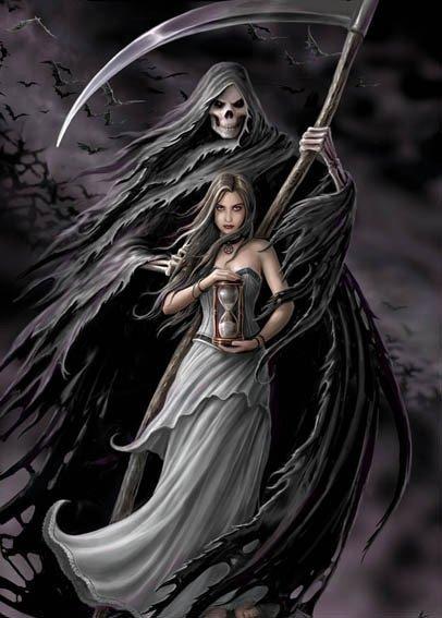 Feuille à Fiction : L'histoire d'une fille qui a fait un pacte avec la Mort.