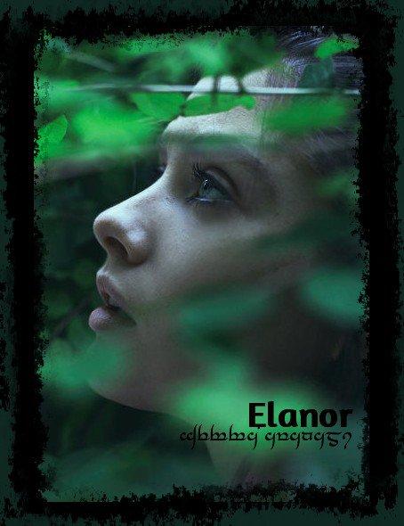 Feuille à Fanfiction : Elanor. - The Hobbit / Le Seigneur des Anneaux.