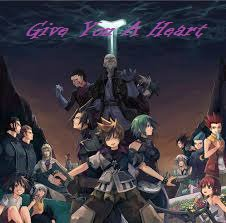 Feuille à Fanfiction : Give you a heart. - Kingdom Hearts.