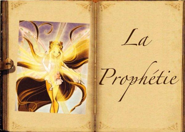 Feuille à Fanfiction : La prophétie. - Winx Club.