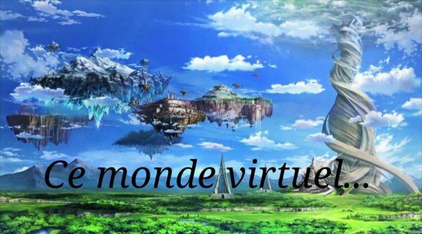 Feuille à Fanfiction : Ce monde virtuel... - Sword Art Online.