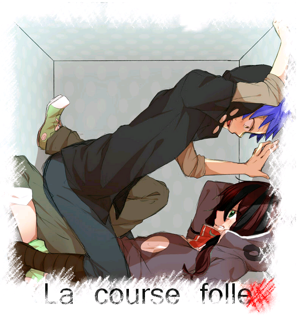 Feuille à One Shot : La course folle. - Original.