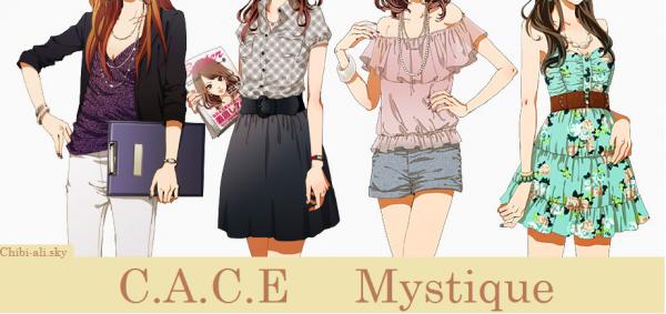 Feuille à Fiction : C.A.C.E. Mystique.