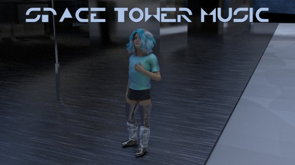 Feuille à Fiction : Space tower music.