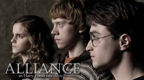 Feuille à Fanfiction : Alliance. - Harry Potter.
